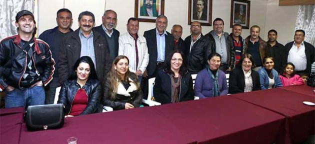 Akıncı, Alevi Kültür Merkezi'ni ziyaret etti