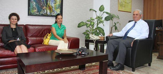 Başbakan Yorgancıoğlu USAM Başkanı Gökyiğit'i kabul etti