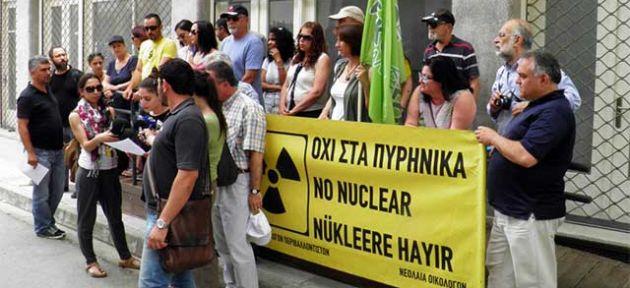 """""""Dünyada nükleere yer yok"""""""