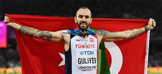 Guliyev'den altın madalya
