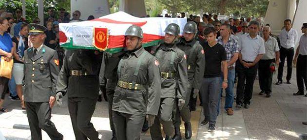 Halil Ersoy askeri törenle uğurlandı