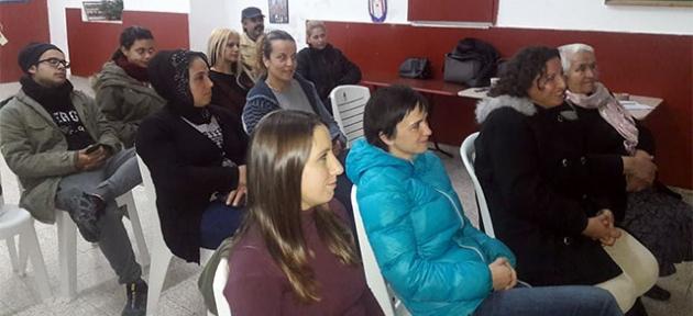 Katılımcılar bilgilendiriliyor