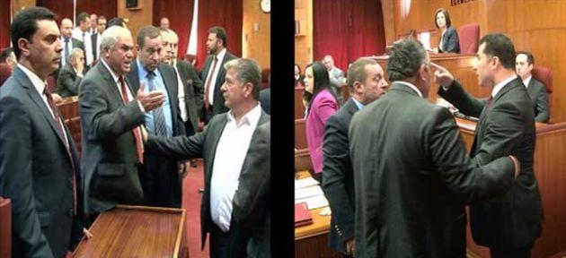 Meclis'te üzen görüntüler