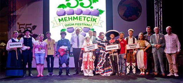 """Mehmetçik'te """"Üzüm Festivali"""" başladı"""