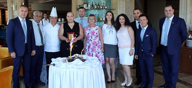Merit Lefkoşa Hotel usta şefine veda etti