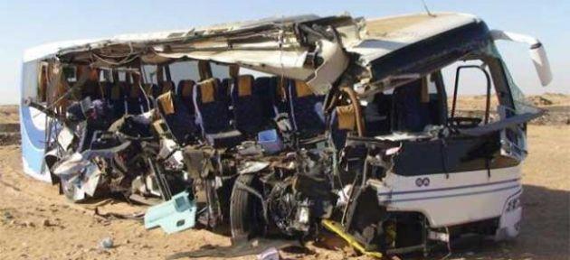 Mısır'da trafik kazası: 33 ölü