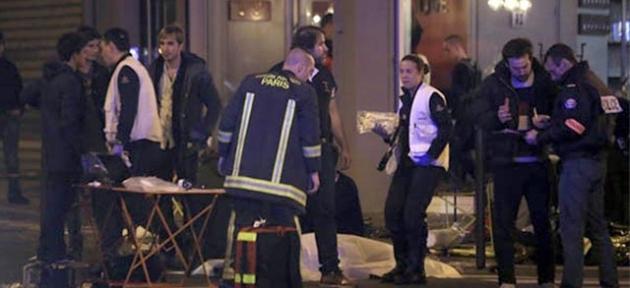 Paris'te terör dehşeti