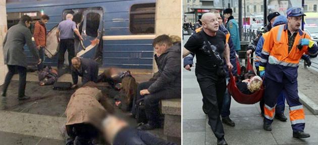 Rusya'da terör dehşeti