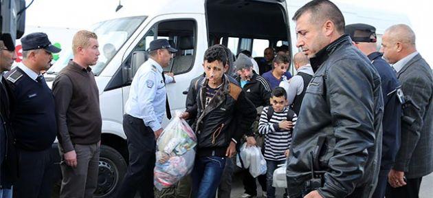 Son mülteciler de Mersin'e gönderildi