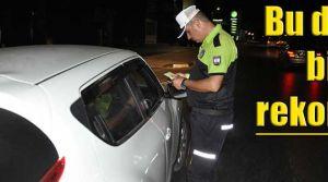 732 araç sürücüsü rapor edildi