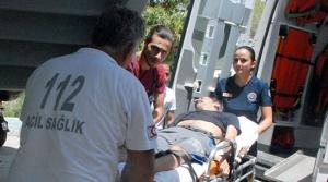 Hastanede kurtarıldı