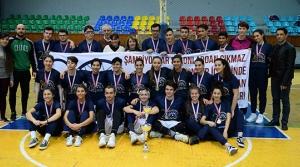Levent ve Yakın Doğu Koleji şampiyon