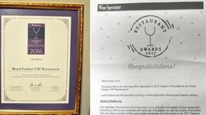 Merit Royal'a  mükemmellik ödülü