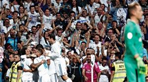 Real Madrid Ronaldo'suz da Süper!