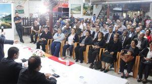 UBP, Maraş'ta toplantı yaptı
