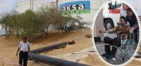 AKSA'da çıkan yangında 5 kişi yaralandı