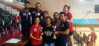 Badminton'da GAÜ şampiyon