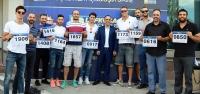 'Dev adamlar' maratonda