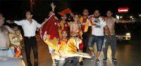 Galatasaraylılar sokaklara döküldü