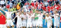 Polonya çeyrek finale yükseldi