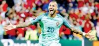 Portekiz'i Quaresma kurtardı 1-0