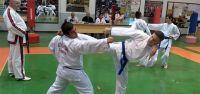 Taekwondo'da kuşak sınavı yapıldı
