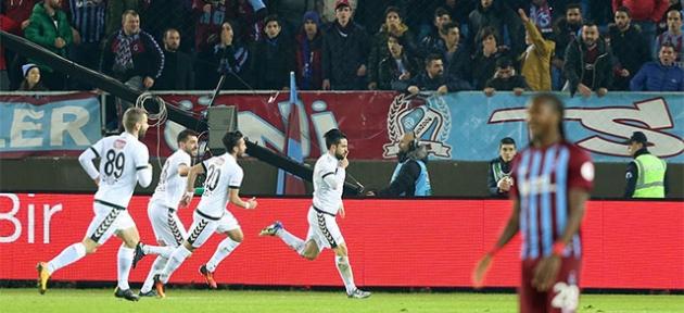 Trabzonspor'un kupa hasretii 8 yıla çıktı