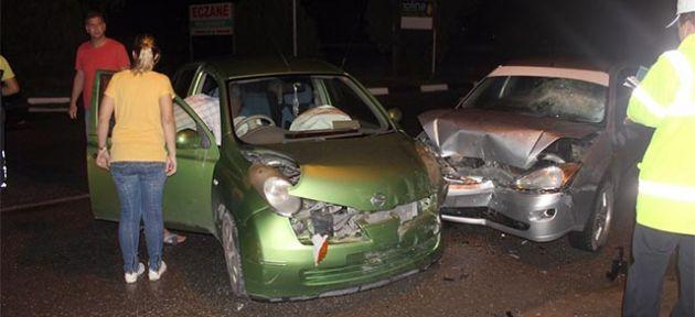 Yeniboğaziçi'nde korkutan kaza