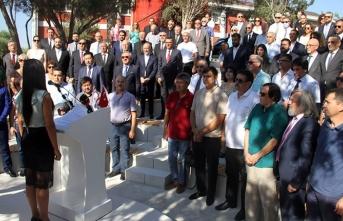 YDÜ kampüsünde kurulan Kıbrıs Modern Sanat Müzesi geçici binası düzenlenen törenle açıldı