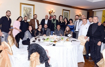 İlkay M.Genç çalışanları yeni yıl kutlamasını Merit Lefkoşa'da yaptı