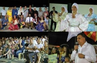 Beyarmudu Belediyesinin düzenlediği Uluslararası Halk Dansları Festivali, Güvercinlik'teki etkinlikle başladı