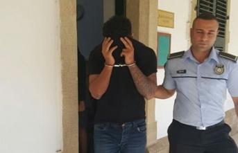 Ercan'da tutuklandı