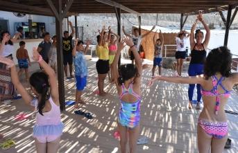 Girne Belediyesi ve Girne Gençlik Gelişim Merkezi (GİGEM) iş birliğinde gerçekleştirilen Gençlik Atölyesi devam ediyor.
