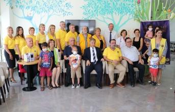 """Lefkoşa Merkez Lions Kulübü, Çocuk Onkolojisi Servisi'ne """"Plum cihazı"""" bağışladı"""