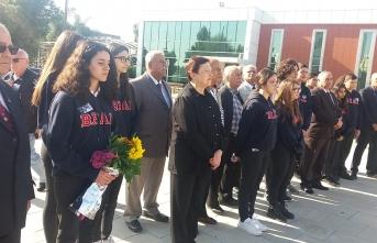 Barış Harekatı'nın Başbakanı Bülent Ecevit törenle anıldı