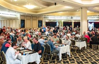 Dünyanın en büyük tavla turnuvası Merit Park Otel'de başladı
