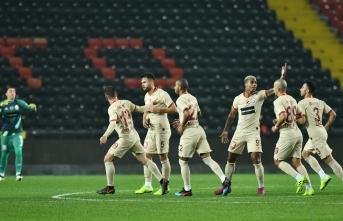 Galatasaray nefes aldı 0-2