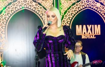 Maxim Royal'de Gökçe Kırgız ile coşku dolu bir gece