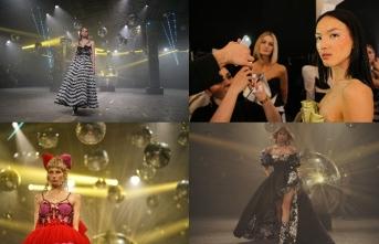 İranlı genç moda tasarımcısı Farnaz Salmani, İstanbul'da defile düzenledi
