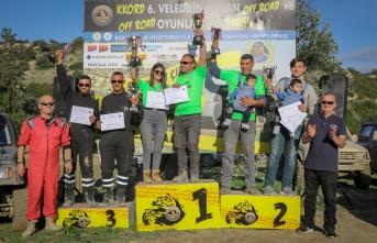 Offroad şampiyonası Alagadi'de başladı