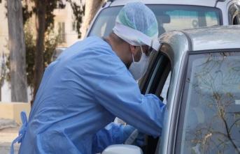 Güney Kıbrıs'ta bir günde bin 968 test