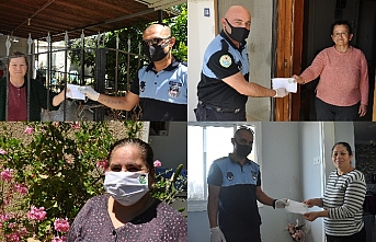 Değirmenlik Belediyesi, en değerli varlıklarımıza maske dağıttı