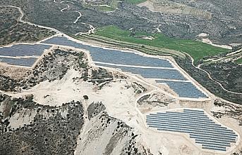 Fransızlar Larnaka'ya güneş parkı kuruyor