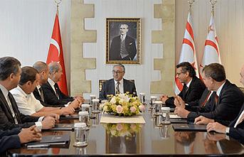 Parti Başkanları Saray'a çağrıldı