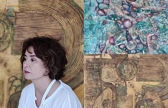 Sanatçı Aysel Mirkasimova eserlerini sanatseverlerle paylaştı