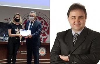 Ali Gürel, DAÜ'lü öğrencilere yardım elini uzattı