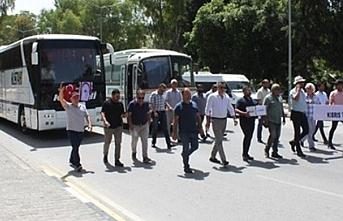 Eylem bitti ama toplu taşıma başlamadı!
