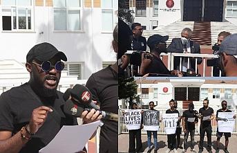 Meclis önünde eylem