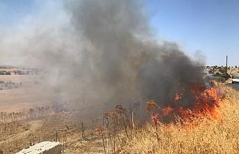Pınarbaşı'nda yangın