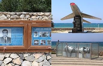 Şehit Pilot Yüzbaşı Cengiz Topel'in hatıraları Lefke'deki anıtında yaşatılıyor